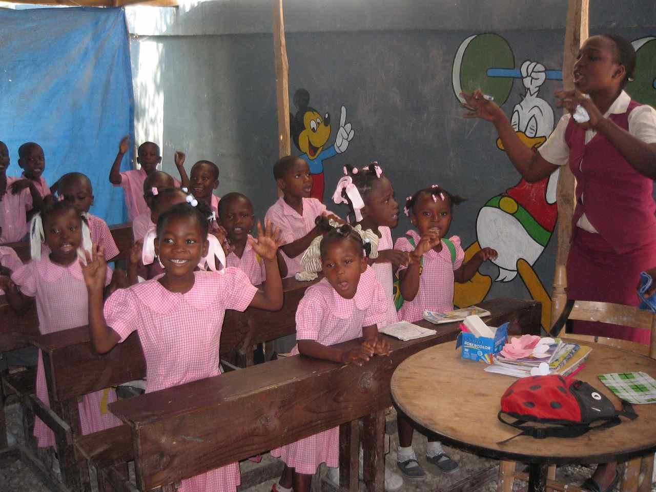 Ann e scolaire 2006 07 action avenir ha ti asbl for Acheter une maison en haiti